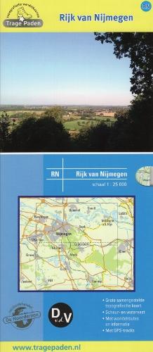 RN Rijk van Nijmegen | wandelkaart 1:25.000 9789491767005  De Noorderzon Trage Paden  Cadeau-artikelen, Wandelkaarten Nijmegen en het Rivierengebied, Nordrhein-Westfalen