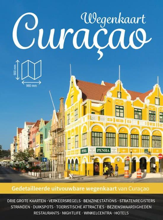 Curaçao wegenkaart 9789492598011  Good Time Concepts   Landkaarten en wegenkaarten Aruba, Bonaire, Curaçao