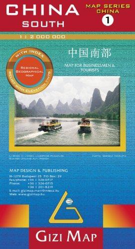 China South 1:2.000.000 (sheet 1) 9789638703033  Gizi Map   Landkaarten en wegenkaarten China (Tibet: zie Himalaya)