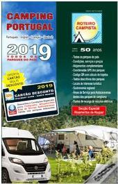Roteiro Campista 2019   Campinggids Portugal 9789728010058  Roteiro Campista   Campinggidsen Portugal