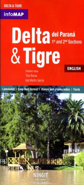 Delta del Parana + Tigre 1:78.000 9789872296087  InfoMap   Wandelkaarten Chili, Argentinië, Patagonië