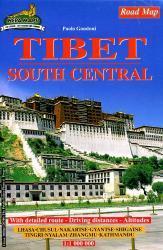 Tibet South Central 1:1.000.000 9789993323464  Nepa Maps   Landkaarten en wegenkaarten Tibet